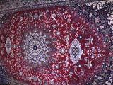 Covor (Floare Carpet) din lână  (2 x 3) stare ideală, păstrat doar pe perete.