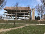 Продается незавершенное строение в 5 уровней, площадью 2290 м.кв.на Телецентре,ул.Хынчештское шоссе