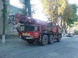 Servicii Macara krane Услуги kран автокран 10 - 50 tone; braț (стрела) 15 - 55 metri