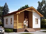 Новый жилой дом для семьи по цене нового автомобиля.