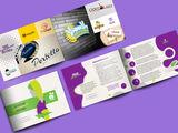 Дизайн буклетов, флаеров, баннеров, проспектов, меню. Лого. Фирменный стиль.