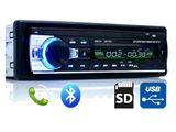 Автомагнитола. Bluetooth, USB для флэшек, AUX, встроенный микрофон, система громкой связи   JSD-520