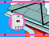 Нагревательный кабель саморегулирующийся на край крыши и в водосток, система стаивания льда. Скидки!