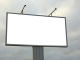 Продам рекламные плакаты бу в хорошем состоянии