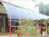 Гибкое стекло - монолитный  поликарбонат