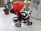 Распродажа - 50%Коляска велосипед трицикл новые с надувными колесами 990 лей.