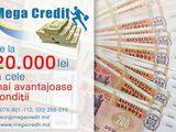 Împrumuturi bănești de la 20 000 lei, кредиты от 20 000 лей