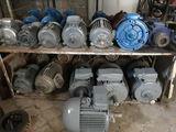 Электромоторы  любых оборотов и квт. 220 V и 380 V  (новые и Б/у) Гарантия  1 год,