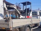 mini excavator + ciocan hidraulic