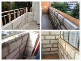 Бельцы Реставрация балконов замена каркаса перил поручень ограждений кладка стен газоблока кирпича