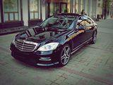 Vip, arenda, chirie, Mercedes S-class cu sofer, Мерседес с шофёрам w221 w222