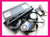 Перезапись-оцифровка видеокассет всех форматов на DVD диски с редактированием. Ремонт видеокассет.