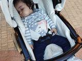 Детская коляска Roan Emma 2в1, экокожа