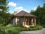 Уютный, современный, тёплый, экономный дом - 65 м2 в белом варианте.