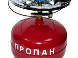 Газовая плита Турист с пропановым баллоном на 3, 5, 8 литров
