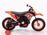 Bike electric oranj ( motocicleta pentru copii )