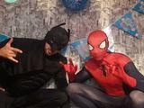 Прокат костюмов бэтман и человек паук