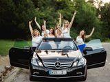 Vip Mercedes-Benz E-Class Cabriolet 65 Euro/zi (decapotabil) cu șofer! (Engleza, rusa si romana)