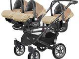 Продаётся детская коляска для тройни 3 в 1  Babyactive Trippy б/у