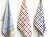 Кухонные полотенца, цельно-тканные, 100% хлопок, из Индии
