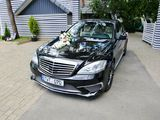Mercedes-benz S class w221 w222 Nunta!! kortej 2;3; mercedes alb/negru,