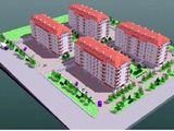 3х комнат квартира на 2 этаже     Apartament cu 3 odăi in bloc nou (Stăuceni)