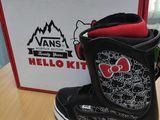 Новые ботинки для сноуборда Vans на 36-37 размер