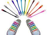 Силиконовые шнурки различных цветов. Șireturi din silicon.