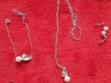 Набор (браслет,серьги,кулон) 250 лей set din bijuterii