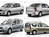 Dezmembrez Dacia Logan 2005-2012  1.5 dci , 1.6 benzin 16 v