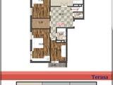 Apartament cu terasa de 140m2! priveliste exceptionala ! perete vitraliu de 4m .