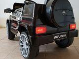 Masinuta electrica Macaca G-Class EC07 (Negru)   Tip automobil Viteza maxima 3 km/ora Varsta 3-8 ani
