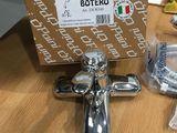 Фирменный итальянский кран смеситель для ванной с душем. Paini Botero.