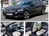 VIP Mercedes-Benz E-Class cu șofer. Transport la comandă