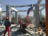Demontarea betonului armat dezmembrare structurilor din beton armat constuctiilor clădirilor