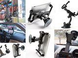 Автомобильные держатели для планшетов 7'-12', смартфонов и навигаторов