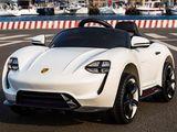 Детский электромобиль Porsche Белый и Красный