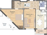 Super-oferta! apartament in casa noua data in exploatare, 525 euro/m2