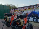 Motoblocuri Zubr motorina 7 cai putere cu electrostarter si fara (ht-105/ht-105E) + credit+garantie