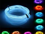 Neon elastic pentru salon auto 2m 12v livrare