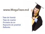Elaborarea la comandă a tezelor de master, licență, proiecte de an, referate!