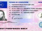 Permis de conducere romanesc Urgent CPI / CPC / ADR