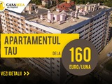 Botanica.Varianta albă. Apartament 1 od. de la 17000 Eur. 2 od. de la 26800 Eur!