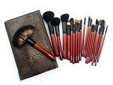 Set 24 Pensule Machiaj Par Natural Megagapensule Profesionale Make