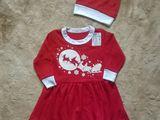 Новое платье с колпачком 4-5 лет