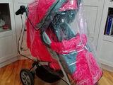 Продам с  коляску б/у. 3 в 1 (есть люлька, дождевик, и чехлы на ножки)