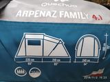 Палатка на 4 места , Quechua Arpenaz Family 4.1