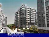 Exfactor Grup - Buiucani, 1 cameră 52 m2 et. 3 de la 550 € m2, prețul 28.600 € cu prima rată 8.500 €