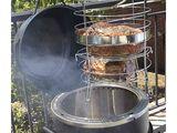 Grillul 3-in-1 Char-Broil The Big Easy (afumatoare, cuptor si gratar)