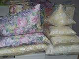 Чистка подушек (curățarea pernelor) материал высокого качества(тик), бесплатная доставка на дом.